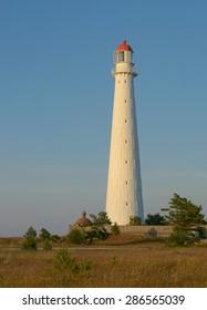 Tahkuna Lighthouse on the island of Hiiumaa, Estonia