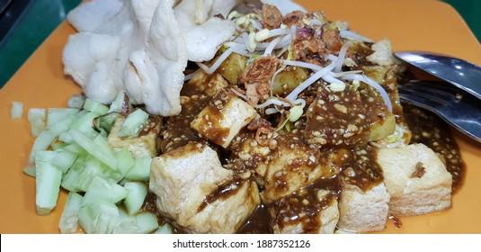 Tahu Tek-Tek Indonesian Traditional Food