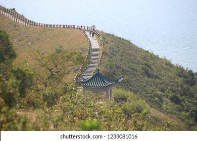 tai o mount  trails in hong kong