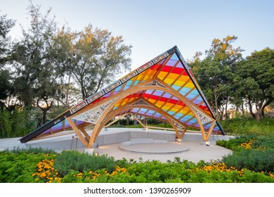 Taichung, DEC 20: World Garden of Taichung World Flora Exposition on DEC 20, 2018 at Taichung