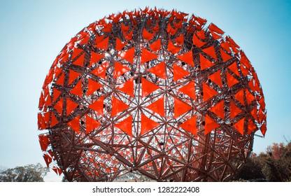 Taichung, Taichung/ Taiwan - 01 03 2019: Taichung World Flora Exposition