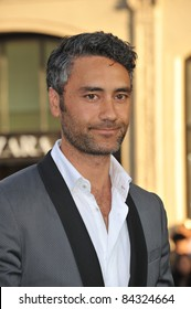 """Taika Waititi at the world premiere of his new movie """"Green Lantern"""" at Grauman's Chinese Theatre, Hollywood. June 15, 2011  Los Angeles, CA Picture: Paul Smith / Featureflash"""