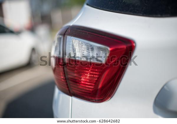 Tail light car