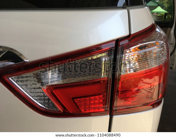 Tail lights to show that we prepared for