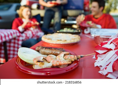 Tailgate: Focus on Grilled Shrimp And Other Tailgating Party Food