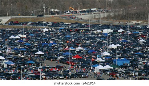 Tailgating at Gillette Stadium