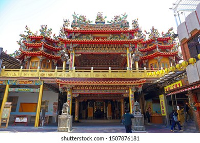 Tainan City, Taiwan - January 27th,2019 : The Jade Emperor Temple