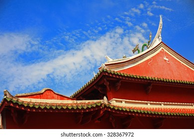 Tainan Official God of War Temples Rooftop