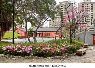 Taipei City, Taiwan - March 5th ,2019 : Western Temple of the Original Vow