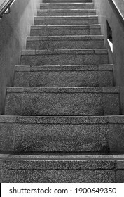 Taipei City,Taiwan -  Jan 5th,2021 : Concrete stairs staircase at museum207 in this historic area of Taipei at No. 207, Section 1, Dihua Street