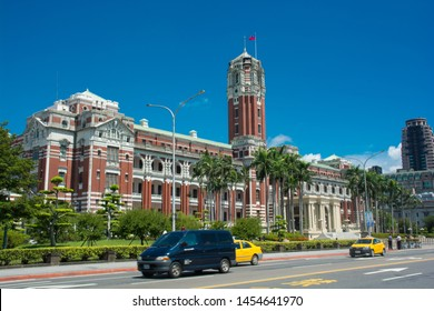 Taipei, Taiwan - July/07/2018: office of the president
