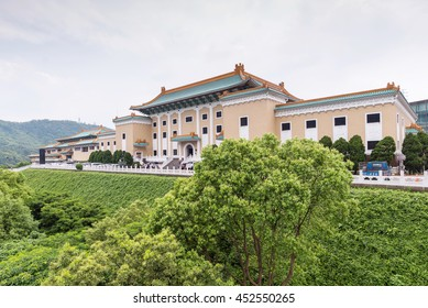 Taipei, Taiwan - MAY 2, 2016 : National Palace Museum in Taipei, Taiwan.