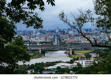 Taipei, Taiwan, Republic of China - December 24, 2018:  Xinsheng