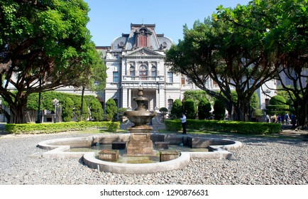 Taipei,Taiwan - Nov.30, 2018  Taipei Guest House made for the Governor-General of Taiwan and completed in 1901.