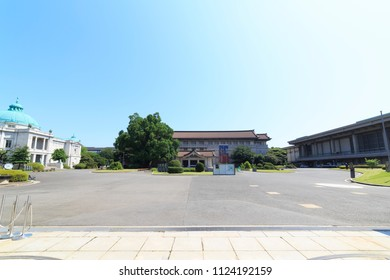Taito,Tokyo,Japan-June 25, 2018: The Tokyo National Museum is established in 1872, is the oldest Japanese national museum, the largest art museum in Japan.
