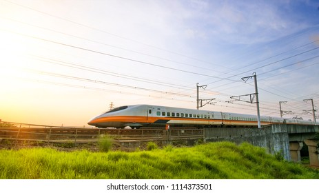 Taiwan Hsinchu Jun.,16, 2018. North bone Taiwan High Speed Rail, Taiwan-Jun.,16, 2018