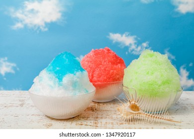 Taiwan type of epidemic shaved ice