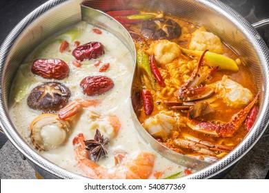 Taiwanese Chinese hotpot