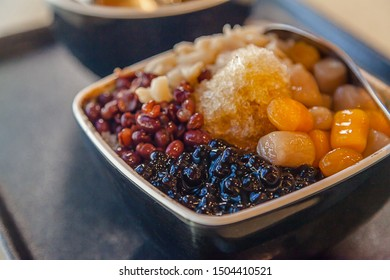 Taiwanese Shaved Ice with Assorted Toppings
