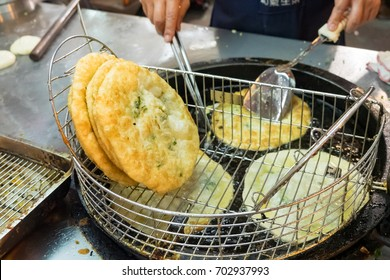 Taiwanese Street Food - Green Onion Pancake