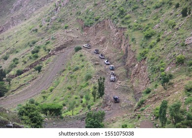 Taiz / Yemen - 29 July 2016 : Nature in the village of Sarari, in Sabir Almoadam District_ Taiz, Yemen.