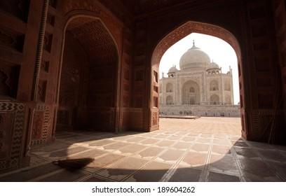 Taj Mahal, The 7 Wonders of the World, Agra, India