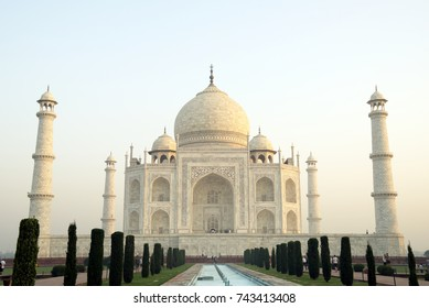 Taj Mahal, Agra. Taj Mahal is a mausoleum built by Mughal emperor Shah Jahan for his wife Mumtaz Mahal. It was built during 1632-53. Taj Mahal is one of the seven wonders of the world.