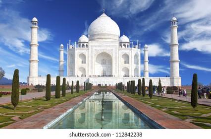 Taj mahal ,Historical monument in India