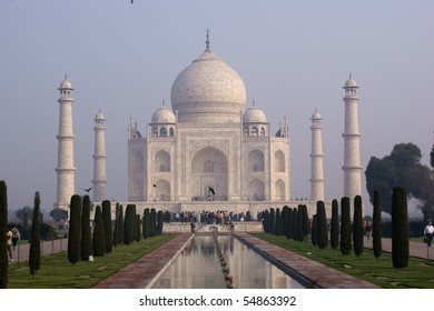 Taj Mahal - Mausoleum in Agra, India