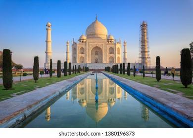 Taj Mahal, One of the Seven Wonders in the World & its Premises