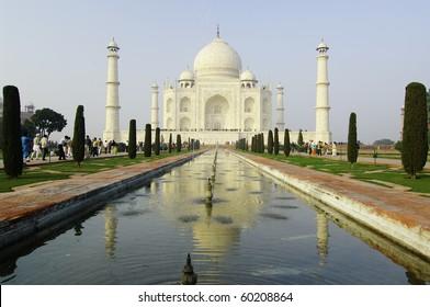 Taj Mahal palace, Agra, India