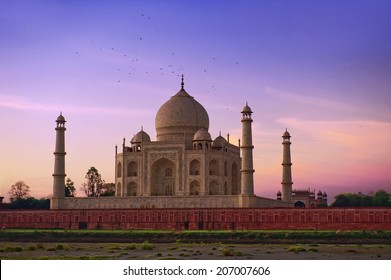 Taj Mahal Sunrise Agra, India