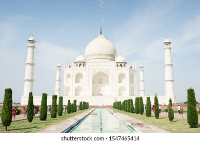 Taj Mahal, a UNESCO World Heritage Site and one of the world wonders!
