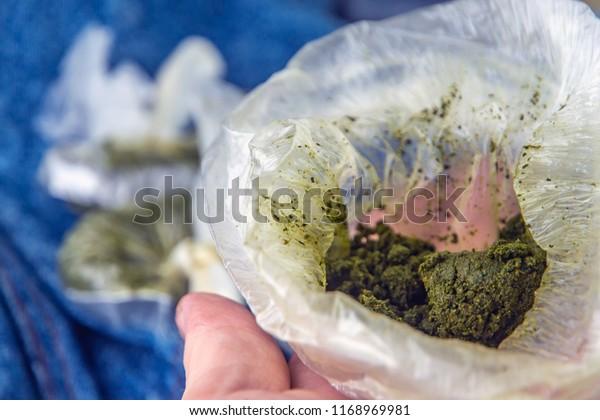 Tajik Uzbek Chewing Tobacco Called Nasvai Stock Photo (Edit Now