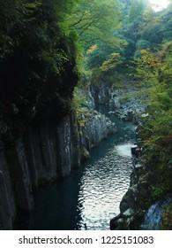 Takachiho Gorge in Miyazaki,Japan.