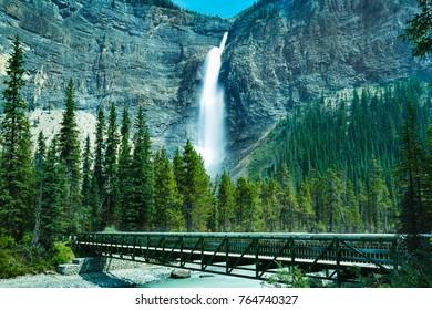 Takakkaw Falls Near Field BC