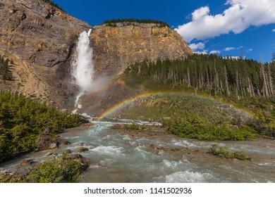Takakkaw Falls of Yoho National Park in Canada