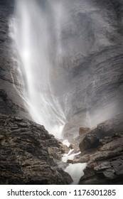 Takakkaw Falls in Canada's Yoho National Park.