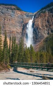 Takakkaw Falls in Yoho National Park, British Columbia, Canada