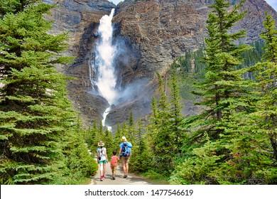 Takakkaw Falls, Yoho National Park, Canada, 9th of August 2018