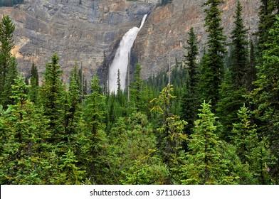 Takakkaw Falls, YoHo National Park, British Columbia, Canada Horizontal