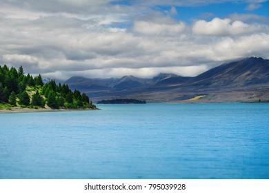 Takapo Lake, New Zealand