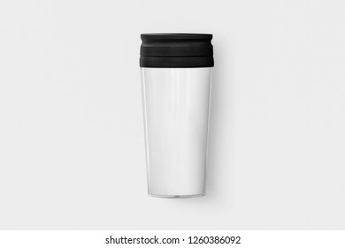 Take away coffee Cup Mug isolated on white background.High resolution photo.