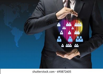 take care of customer , human value driven centric