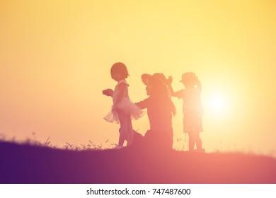 Take children to explore nature.