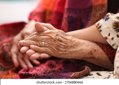take my hand mom, holding mom's hand, hands of the elderly woman