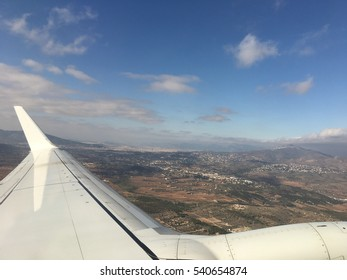 Take off from Athens International Airport in Greece