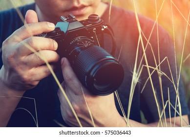 Take photos nature