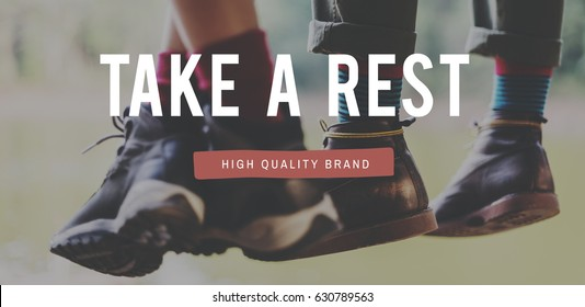Take a Rest Recreation Carefree Concept
