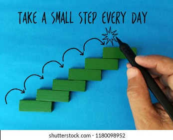 Take a small step every day